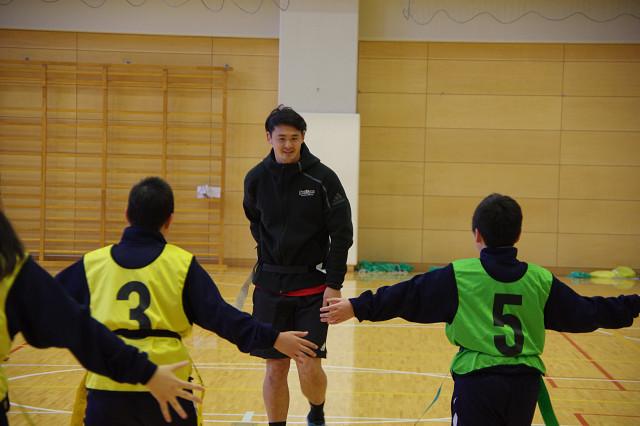 世田谷中学校ラグビー体験 実施レポート